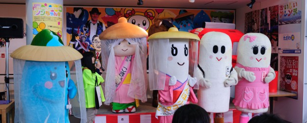 08 秋田ふるさと村ご当地キャラ大集合02